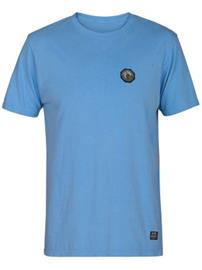 Hurley Heavy Pendleton Yosemite T-Shirt chlorine blue / black Miehet
