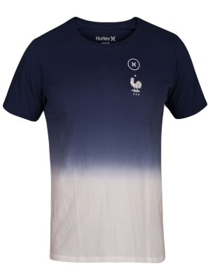 Hurley France National Team T-Shirt obsidian Miehet