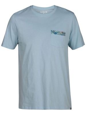 Hurley Floral Pocket T-Shirt ocean bliss / noise aqua Miehet