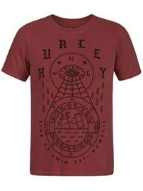 Hurley Port Destroy Grind T-Shirt mars stone Miehet