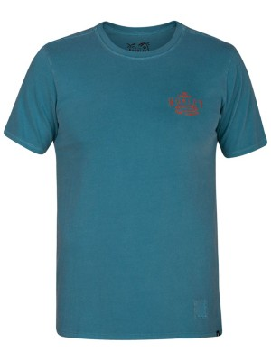 Hurley Surf Co Destroy T-Shirt noise aqua Miehet
