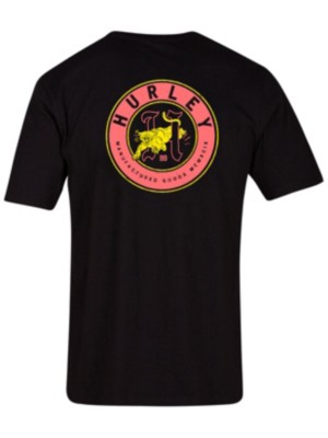 Hurley Prowler Dri-Fit T-Shirt black Miehet