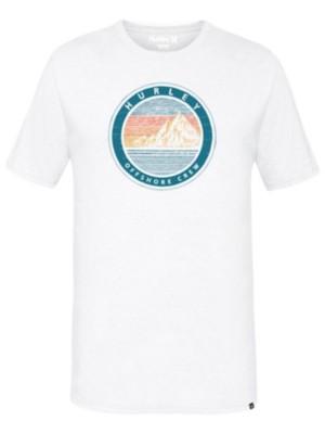 Hurley Offshore Crew T-Shirt white Miehet