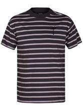 Hurley Port City Mock Crew T-Shirt anthracite Miehet