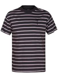 Hurley Port City Mock Crew T-Shirt anthracite Miehet