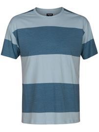 Hurley Rugby Destroy Crew T-Shirt noise aqua Miehet