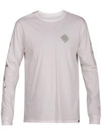 Hurley Glyphs T-Shirt LS white Miehet