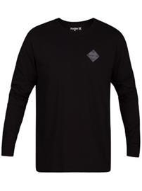 Hurley Glyphs T-Shirt LS black Miehet