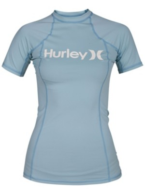 Hurley One & Only Rash Guard ocean bliss / noise aqua Naiset