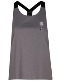 Hurley Quick Dry Mesh Tank Top cool grey Naiset