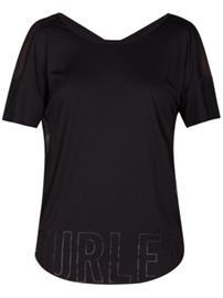 Hurley Quick Dry Rvsb Mesh T-Shirt black Naiset