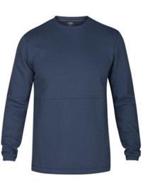 Hurley Bayside Crew Sweater obsidian Miehet