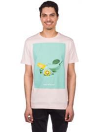 Iriedaily Banawi T-Shirt rose Miehet