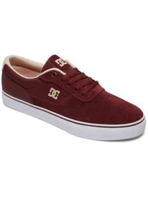 DC Switch Skate Shoes maroon Miehet