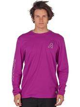 Analog Baltic T-Shirt LS grapeseed Miehet