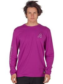 Analog Baltic T-Shirt LS grapeseed Miehet