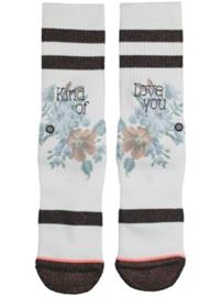 Stance Maybe Baby Socks white Naiset