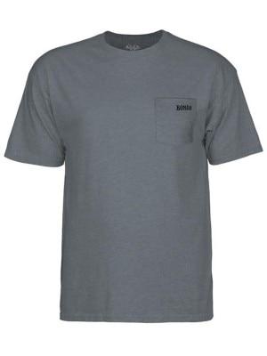 Bones Wheels Petey T-Shirt charcoalheather Miehet