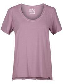 Hurley Wash Varsity T-Shirt elemental rose Naiset