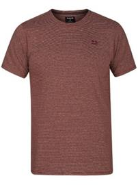 Hurley Static Crew T-Shirt mars stone Miehet