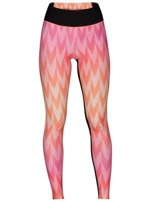 Hurley Mesh Bula Surf Leggings laser orange Naiset