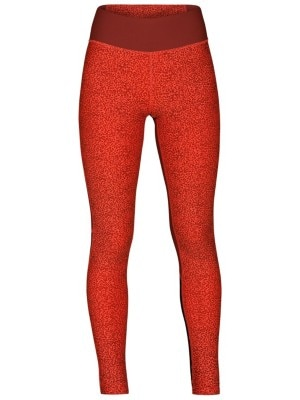 Hurley Mesh Cheetah Surf Leggings rush coral Naiset