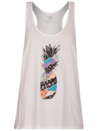 Hurley Torn Perfect Tank Top white Naiset