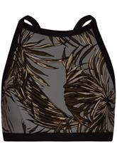 Hurley Quick Dry Koko High Neck Surf Bikini Top dark stucco Naiset