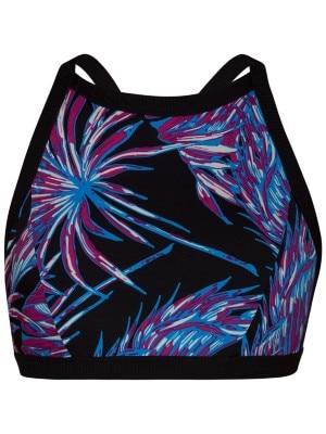 Hurley Quick Dry Koko High Neck Surf Bikini Top black Naiset
