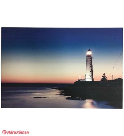 Noor Canvas Lighthouse, led-valotaulu