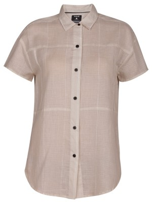 Hurley Wilson Static Shirt light bone Naiset