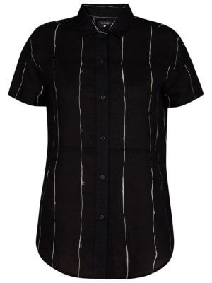 Hurley Wilson Static Shirt black Naiset