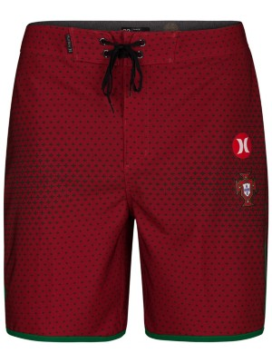 Hurley Phantom Portugal Team 18'' Boardshorts gym red Miehet