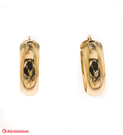 Silver Bar 7261 Creol 6-18 kullatut hopeakorvakorut