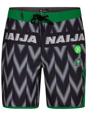 Hurley Phantom Nigeria Team 18'' Boardshorts black Miehet