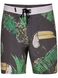 Hurley Toucan 18'' Boardshorts black Miehet