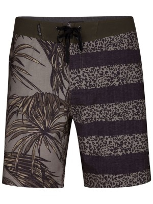 Hurley Phantom Floral 18'' Boardshorts dark stucco Miehet