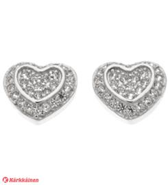 Silver Bar 8092 Cake Heart hopeakorvakorut