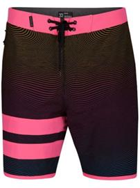 Hurley Phantom Static Block Party Boardshorts pink blast Miehet