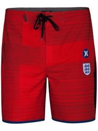 Hurley Phantom England Team 18'' Boardshorts challenge red Miehet
