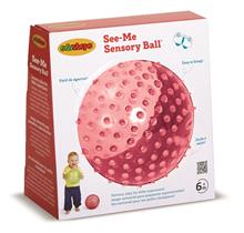Sensory Ball Clear Red