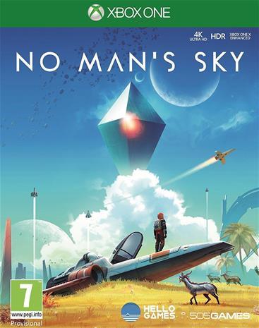 No Man's Sky, Xbox One -peli