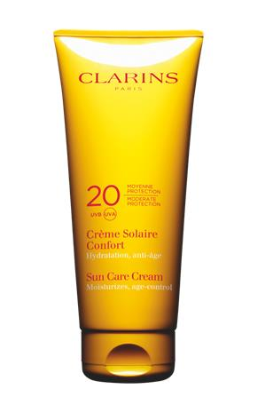 "Clarins ""Sun Care Cream Moderate Protection UVB 20 UVA 200 ml"""