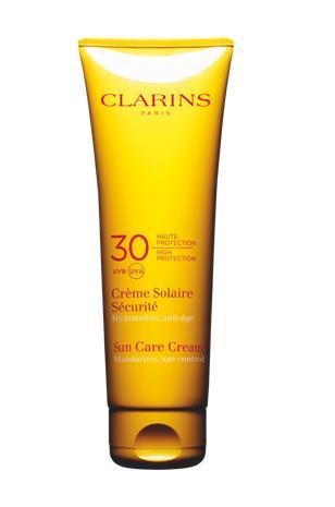 "Clarins ""Sun Care Cream High Protection UVB 30 UVA 125 ml"""