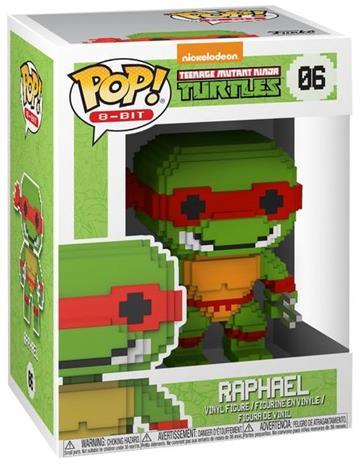 Teenage Mutant Ninja Turtles Raphael - 8-Bit Vinyl Figure 06 (figuuri) Keräilyfiguuri Standard