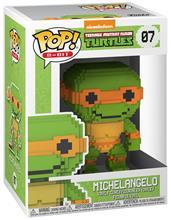 Teenage Mutant Ninja Turtles Michelangelo - 8-Bit Vinyl Figure 07 (figuuri) Keräilyfiguuri Standard