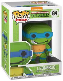 Teenage Mutant Ninja Turtles Leonardo 8-Bit Vinyl Figure 04 (figuuri) Keräilyfiguuri Standard