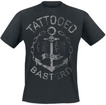 Badly Tattooed Basterd T-paita musta