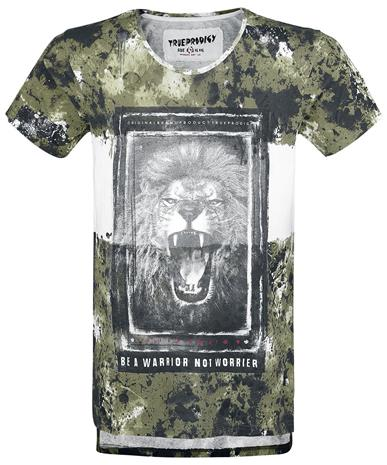Trueprodigy Warrior T-paita khaki