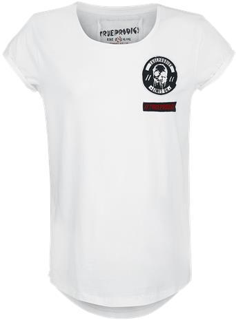 Trueprodigy 2 Hot 4 Heaven T-paita valkoinen
